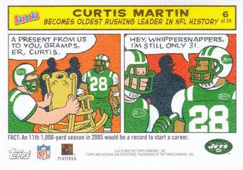 2005 Bazooka Comics 6 Curtis Martin