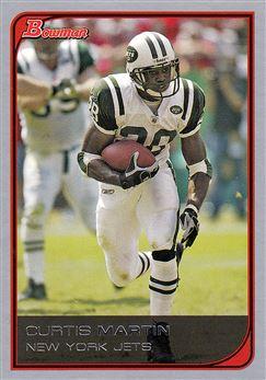 2006 Bowman  36 Curtis Martin