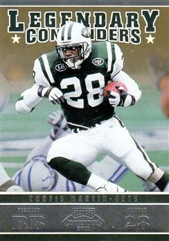 2011 Playoff Contenders Legendary Contenders 20 Curtis Martin