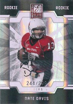 49ers 2009 Donruss Elite Nate Davis