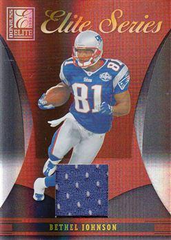 Patriots 2006 Donruss Elite Series Jerseys Bethel Johnson