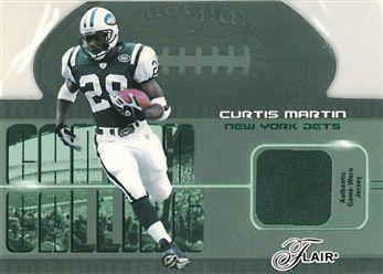 2003 Flair Canton Calling CCCM Curtis Martin green