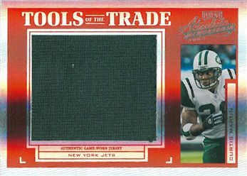 2004 Absolute Memorabilia Tools of the Trade Material Jersey Spectrum TT19 Curtis Martin