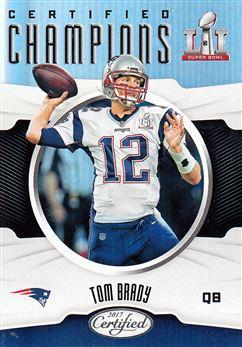 2017 Certified Champions CCTB Tom Brady