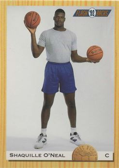 1993 Classic #104 Shaquille O'Neal FLB