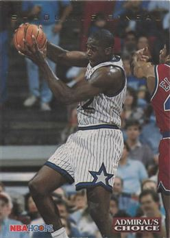 1993-94 Hoops Admiral's Choice #AC4 Shaquille O'Neal