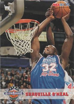 1993-94 Hoops #264 Shaquille O'Neal AS