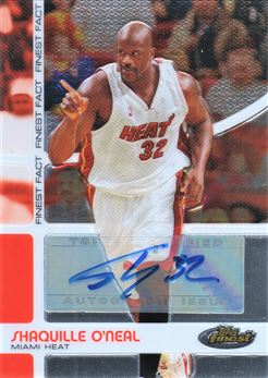 2005-06 Finest Fact Autographs #SO Shaquille O'Neal 36/65
