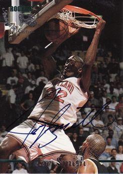 1995 Classic Autographs Edition #1 Joe Smith