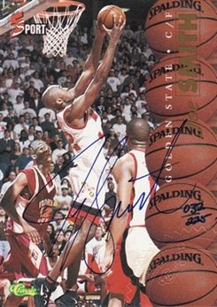 1995 Classic Five Sport Autographs 225 #1 Joe Smith