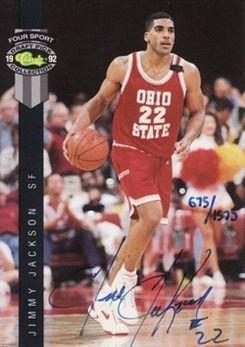 1992 Classic Four Sport Autographs #28 Jimmy Jackson