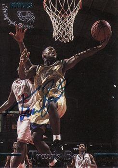 1995 Classic Autographs #21 Travis Best