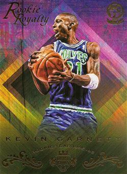 2016-17 Court Kings 5x7 Box Topper Rookie Royalty #17 Kevin Garnett