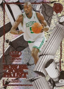 2017-18 Crown Royale Power in the Paint #19 Kevin Garnett