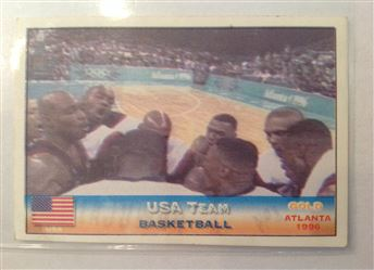 2000 Sydney Olympics Maracani Sports Stickers USA Team Basketball Atlanta 1996 #153