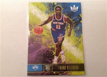 2017-18 Court Kings #108 Frank Ntilikina RC