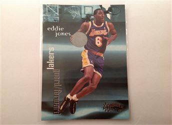 1998-99 SkyBox Thunder #124 Eddie Jones