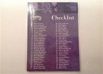 1998-99 SkyBox Thunder #126 Checklist