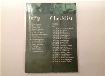 1998-99 SkyBox Thunder #127 Checklist