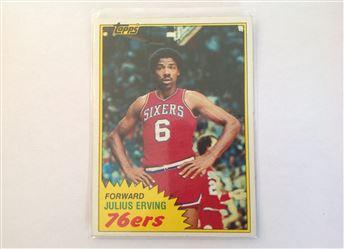 1981-82 Topps #30 Julius Erving