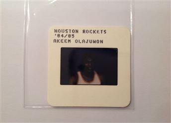 1984-85 Media TV Slide Akeem Olajuwon