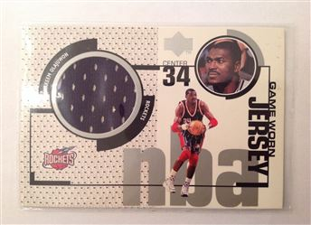 1998-99 Upper Deck Game Jerseys #GJ25 Hakeem Olajuwon