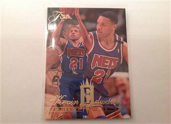 1994-95 Flair #97 Kevin Edwards