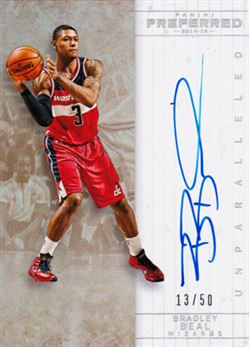 2014-15 Preferred Unparalleled #504 Bradley Beal
