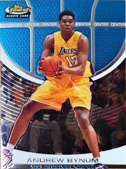 2005-06 Finest #115 Andrew Bynum