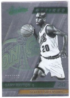 2015-16 Absolute Retired #135 Gary Payton