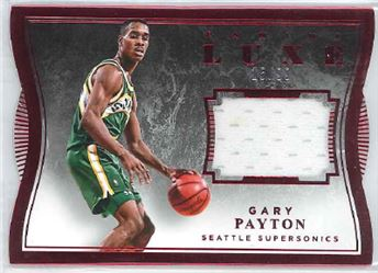 2015-16 Luxe Memorabilia Die-Cuts Red #91 Gary Payton