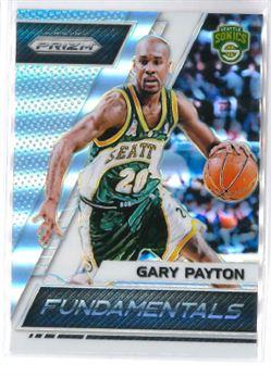 2017-18 Prizm Fundamentals Silver Prizms #5 Gary Payton