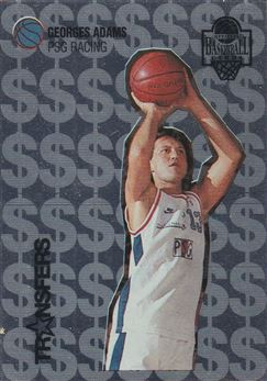1996 Panini Official Basketball cards #TR10 Georges Adams