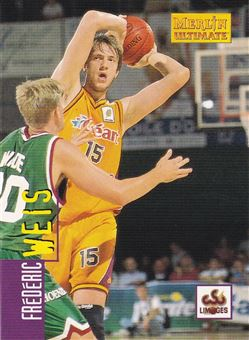 Frederic Weis 1997 Merlin Ultimate Basketball cards #76