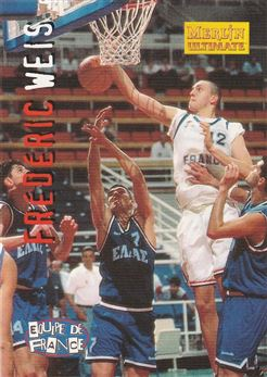 Frederic Weis 1997 Merlin Ultimate Basketball cards #178