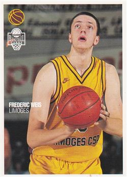 Frederic Weis 1996 Panini Official Basketball cards #88