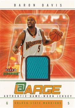Baron Davis 2004-05 Fleer Genuine At Large Game Used #BD