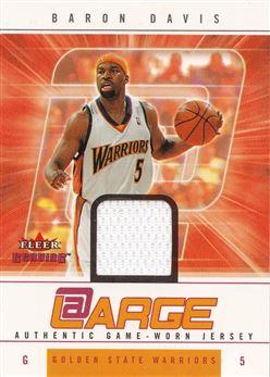 Baron Davis 2004-05 Fleer Genuine At Large Game Used 199 #BD /199
