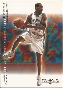 2000-01 Black Diamond #75 Derek Anderson