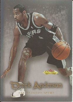 2000-01 Fleer Showcase #30 Derek Anderson