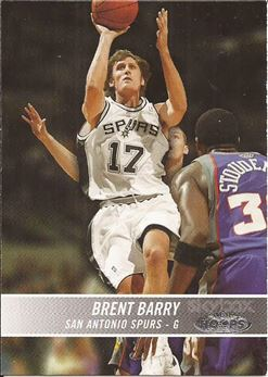 2004-05 Hoops #104 Brent Barry