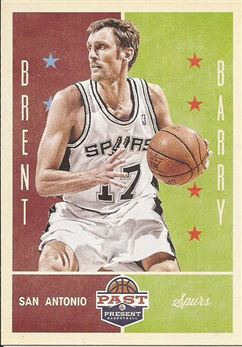 2012-13 Panini Past and Present #86 Brent Barry