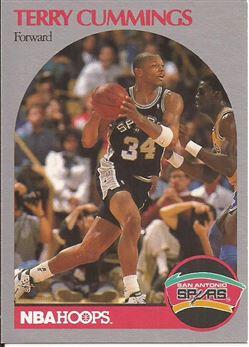 1990-91 Hoops #266 Terry Cummings
