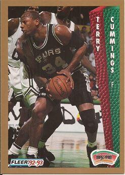 1992-93 Fleer #203 Terry Cummings