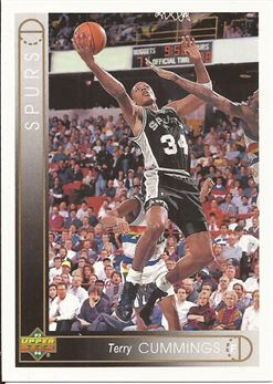 1993-94 Upper Deck #273 Terry Cummings