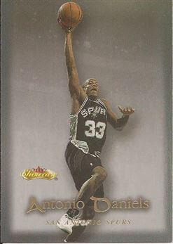 2000-01 Fleer Showcase #53 Antonio Daniels