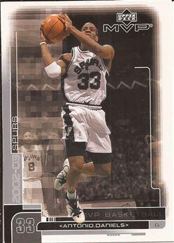 2002-03 Upper Deck MVP #161 Antonio Daniels