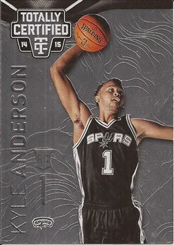 2014-15 Totally Certified #165 Kyle Anderson RC