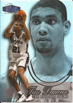 1998-99 Flair Showcase Row 3 #3 Tim Duncan