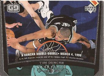 1998-99 Upper Deck #135 Tim Duncan